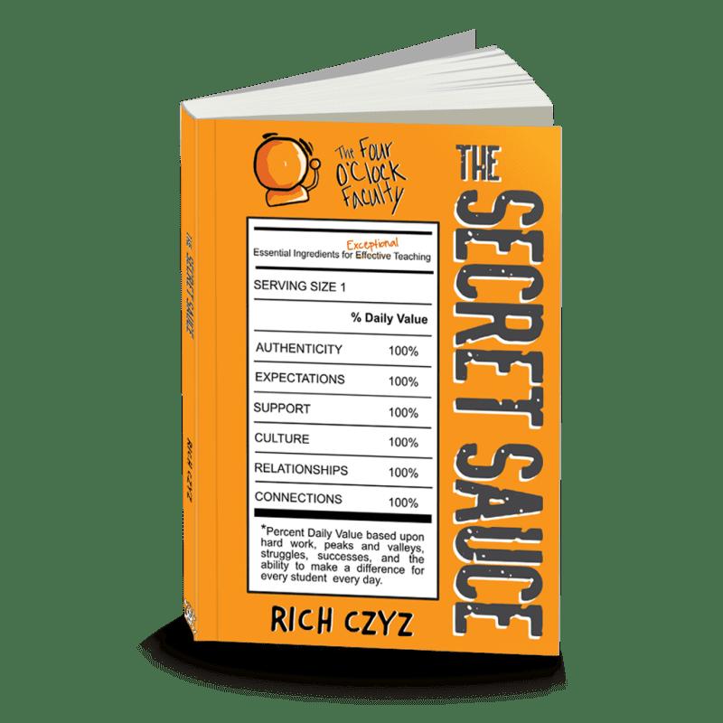 The Secret Sauce by Rich Czyz